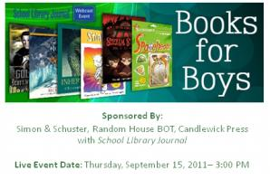 Books for Boys Webinar