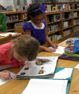 We used a book pass so students could examine and make notes on real inventions that changed the world.