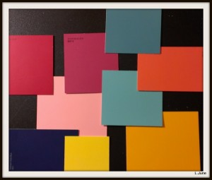 Paint Chip Collage 1