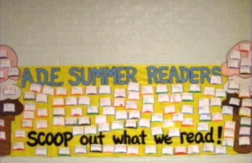 Summer Reading Banner Filled