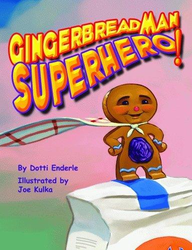 gingerbread man superhero