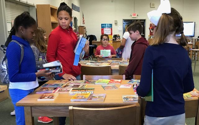 a695edf06 Students traded 95 books during our Seuss Swap! We also had an additional  15 books donated to the swap to provide more choice for students.